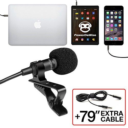 KIMAFUN 2 4G Wireless Lavalier Microphone with Voice